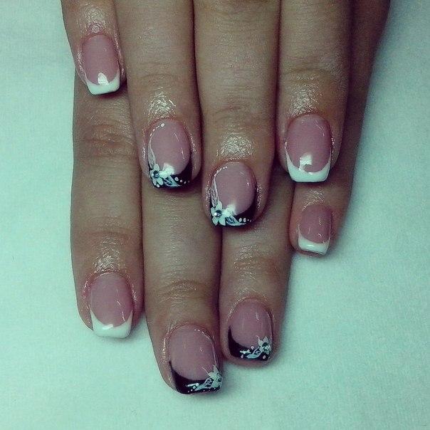 Дизайн натуральных ногтей фото